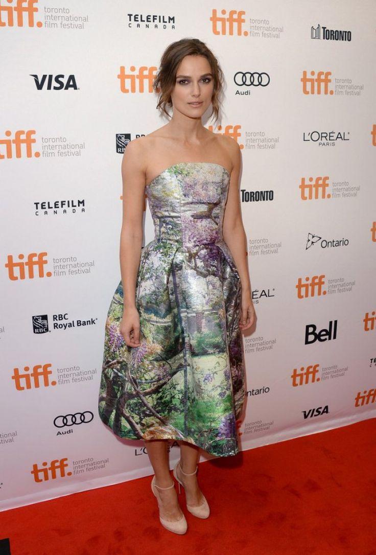 Keira Knightley wearing  Mary Katrantzou