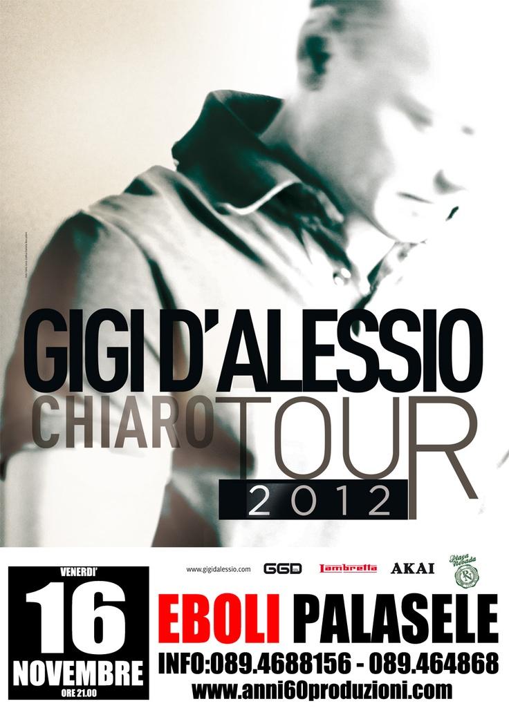 16 novembre 2012 - Gigi D'Alessio @ Palasele