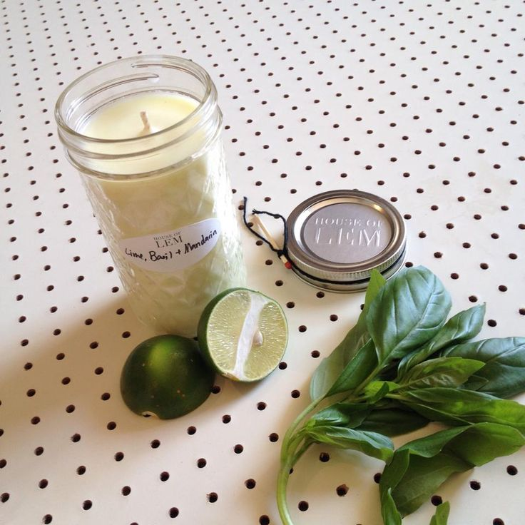 S C E N T S // One of our best sellers!! Lime, Basil & Mandarin hand-poured soy candles. Yum! @houseoflem #handpouredcandles #handpoured #handmade #limebasilmandarin #candles #soycandles #summerscents #tleafcollections