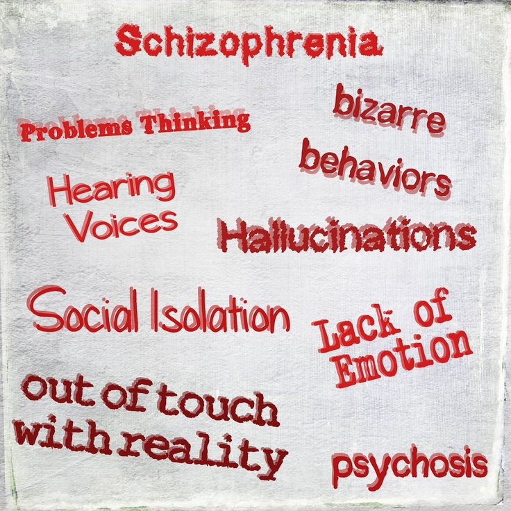 characteristics of schizophrenia a mental illness Learn about the symptoms of schizophrenia and what you can do to cope schizophrenia shares many symptoms with other mental illnesses.