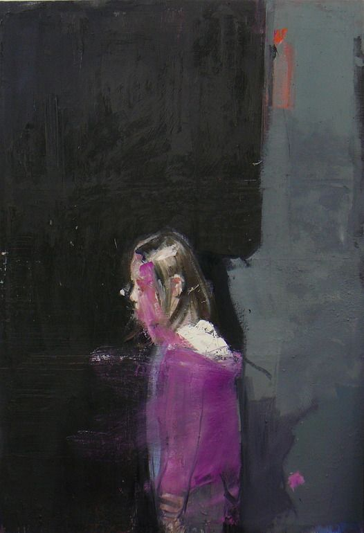 "Saatchi Online Artist: christos tsimaris; Oil, 2011, Painting ""by the window"""