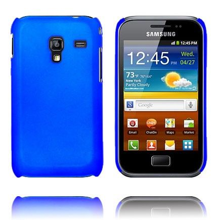 Hard Shell (Blå) Samsung Galaxy Ace Plus Cover