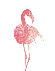 Oh So Lovely: MORE FREE PINK FLAMINGO PRINTABLES!