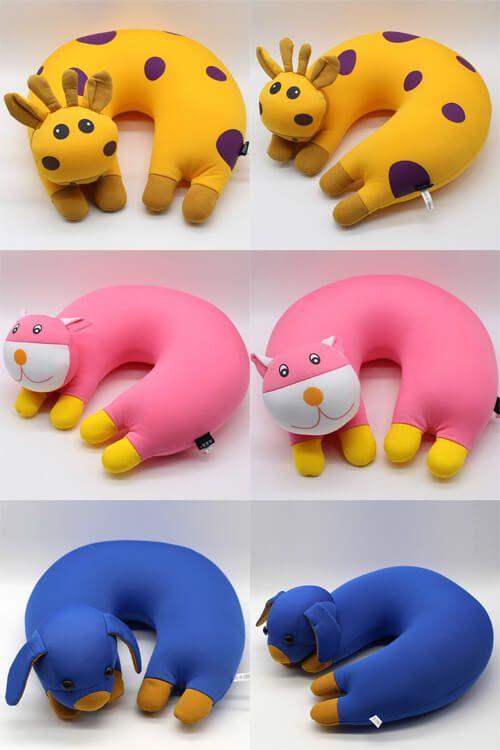 almofadas de pescoço 3d
