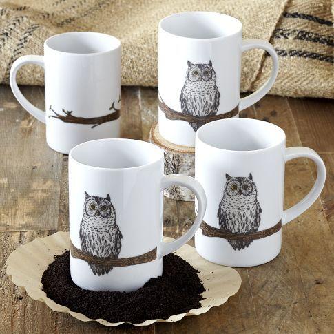West Elm / Owl Mug $6