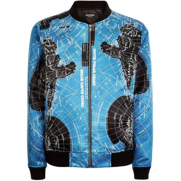 Marbek - Marbek Night Atlas Jacket ($105) ❤ liked on Polyvore featuring men's fashion, men's clothing, men's outerwear, men's jackets, mens summer jackets, mens metallic jacket and mens zip up jackets
