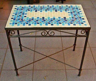 Modelos de mesas feita com mosaicos pesquisa google for Mesas de mosaico
