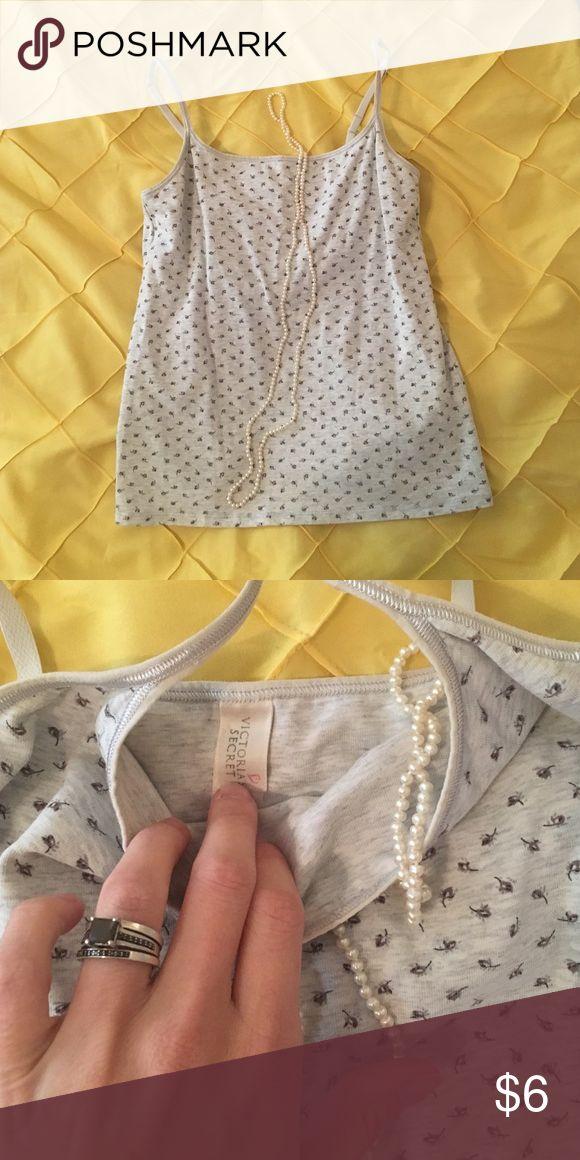 Victoria Secret floral Cami w/built in bra Victoria Secret floral Cami w/built in bra, size small Victoria's Secret Tops