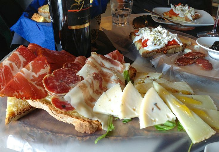 Antipasti at Lacapagria in the Sassi section of Matera, Italy. Definitely worth a visit.