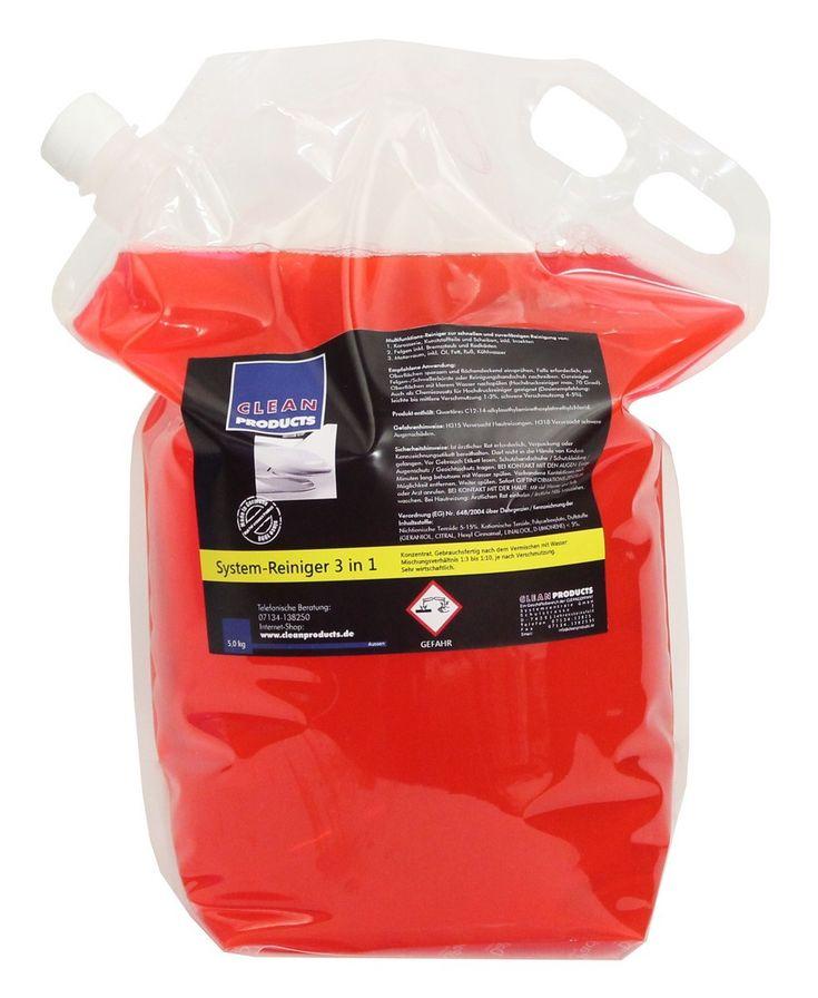 CLEANPRODUCTS Fahrzeug-Außen-Reiniger 3 in 1 (Konzentrat) - 5,0 kg Reinigung & Pflege Fahrzeug Außen-Reinigung Reinigungsmittel Außen