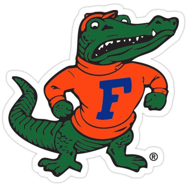 Florida Gators Vintage Albert Sticker By William Danner In 2021 Florida Gators Logo Gator Logo Gator Nation