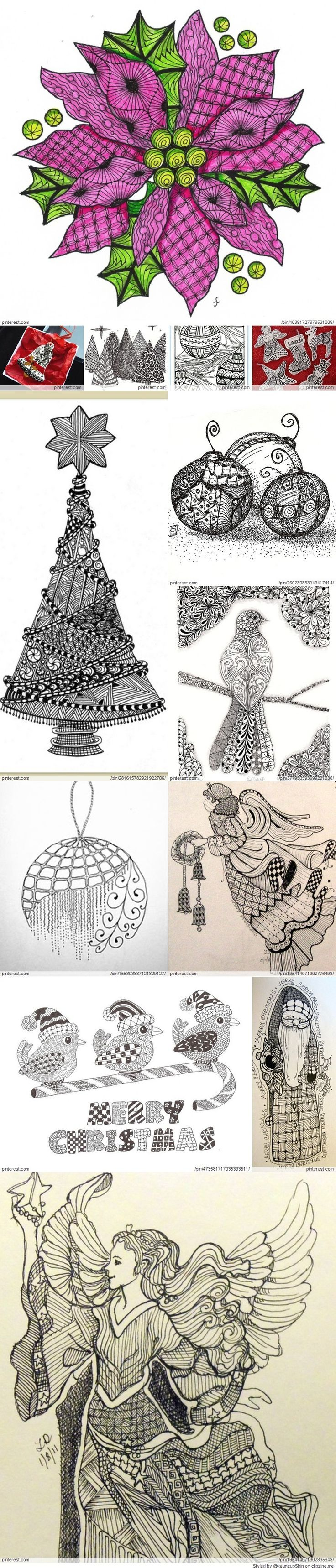 The best images about Zentangle on Pinterest Doodle patterns