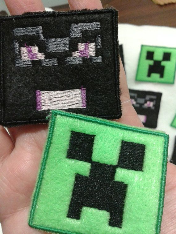 Minecraft Creeper Patches Iron on eBay