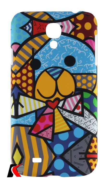 Luxo Pablo Picasso serisi Samsung Galaxy S4 Ayıcık Desenli Kılıf