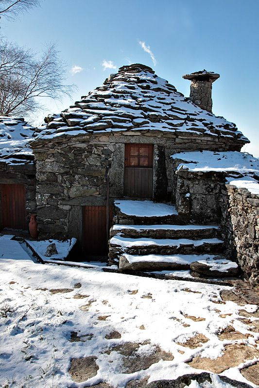 Stone cottage, Portugal