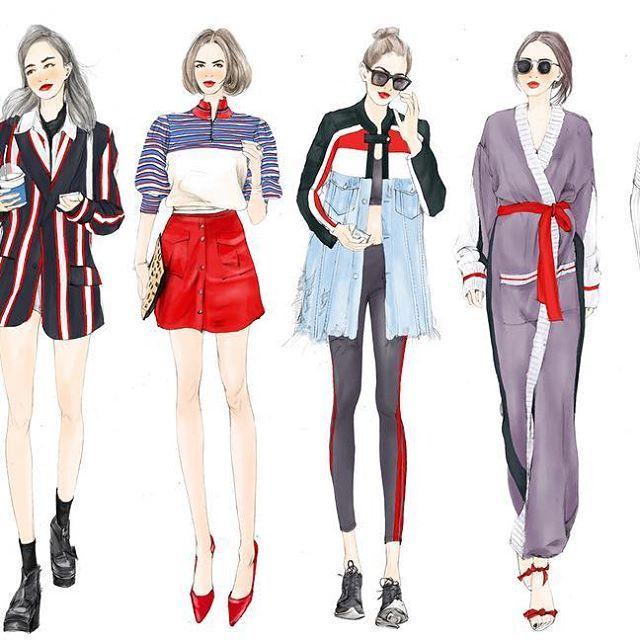 Fashion Illustration。Email:22759838@qq.com