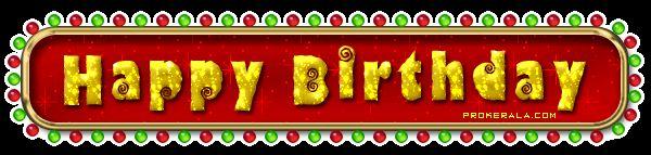 Glitter Birthday Wishes | Malayalam Birthday Scraps - Malayalam Scraps and Malayalam Glitter ...