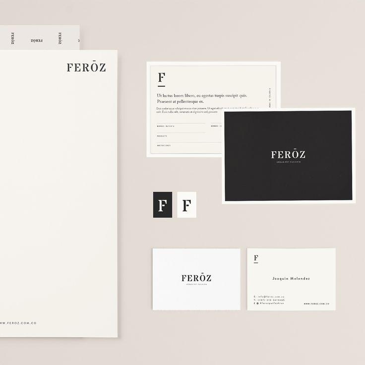 Un poco de @ferozpetfashion con el branding y packaging finalizado
