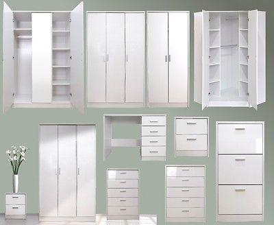 Bedroom Furniture White Gloss 25+ best white gloss bedroom furniture ideas on pinterest