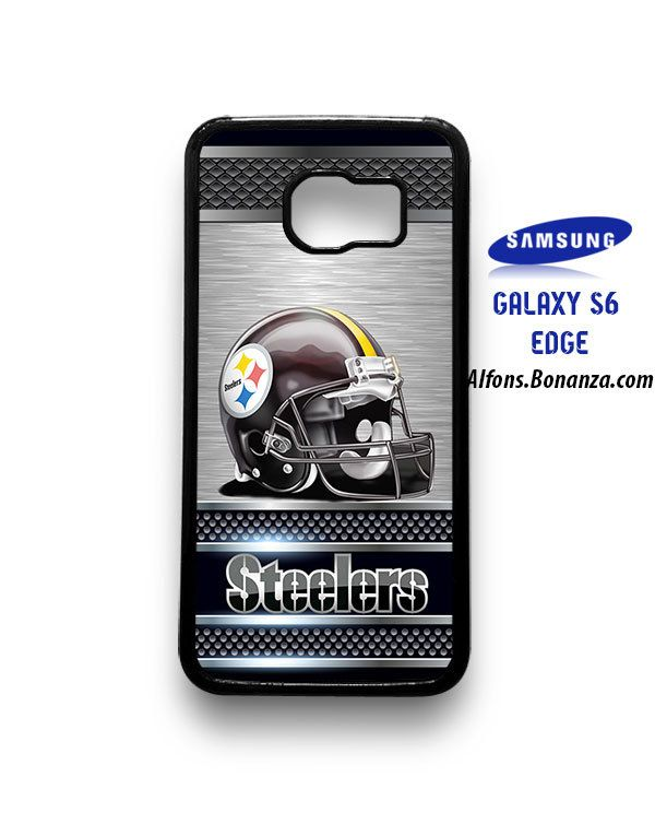 Pittsburgh Steelers Helmet Samsung Galaxy S6 EDGE Case