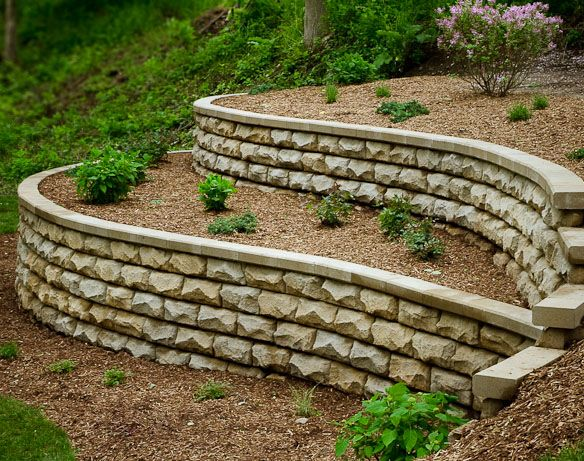 15 best waterfront backyard images on pinterest diy on retaining wall blocks id=73274