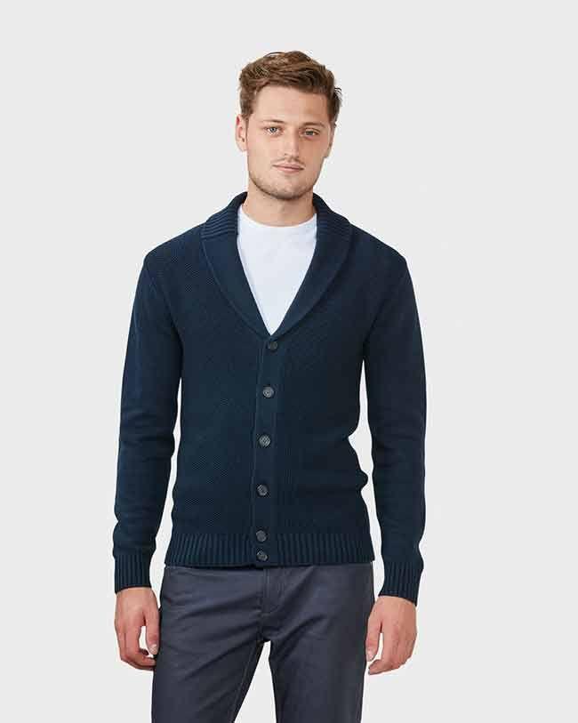 Herenmode, We Fashion vest met sjaalkraag en knoopsluiting MEER http://www.pops-fashion.com/?p=32028