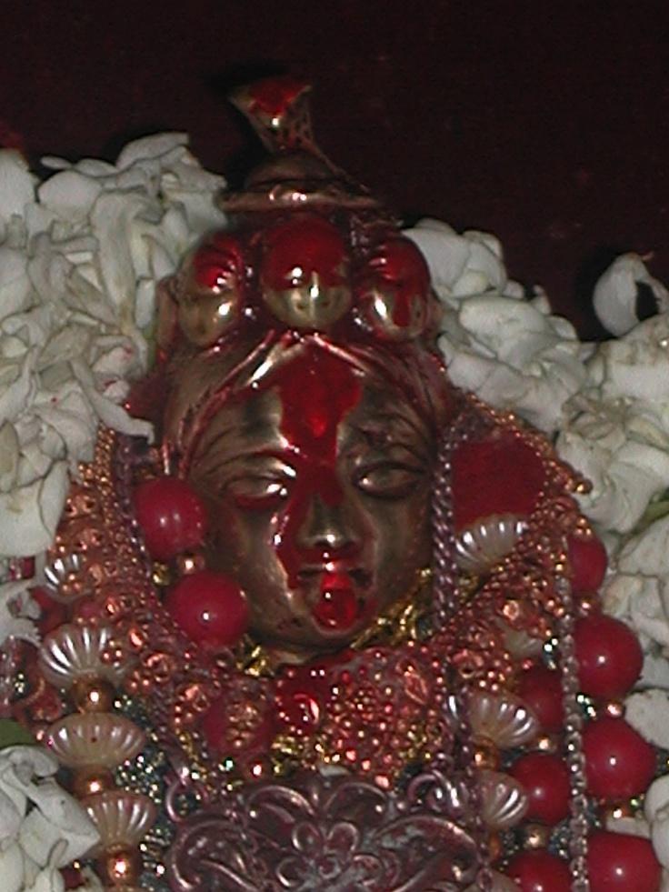 Darshan of Maa Ugra Tara, Guwahati, Assam (India).