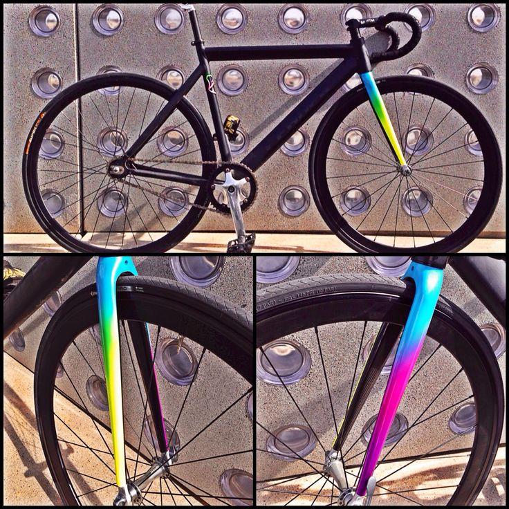 Fork#fixie#degrade color. RobertCat.