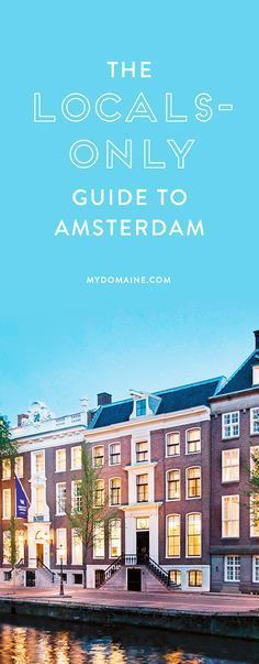Amsterdam is a really cool place. Don't forget to take this guide with you when you go!