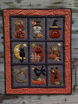 33 Best Images About Halloween Wool Applique On Pinterest