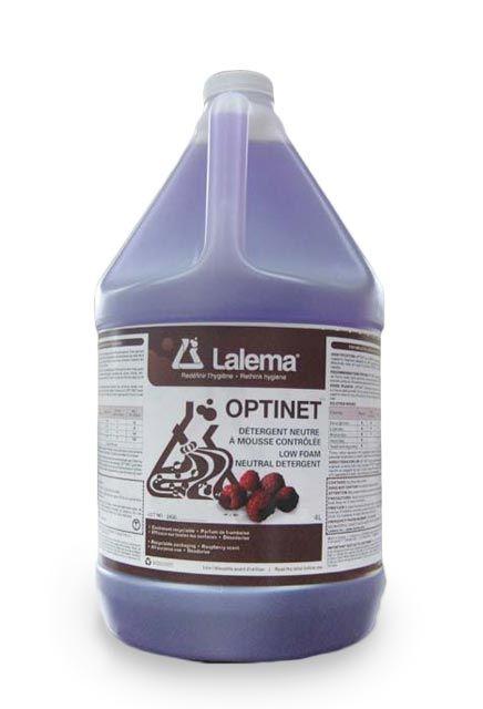 Low Foam Neutral Cleaner OPTINET: Low foam raspberry-scented neutral cleaner