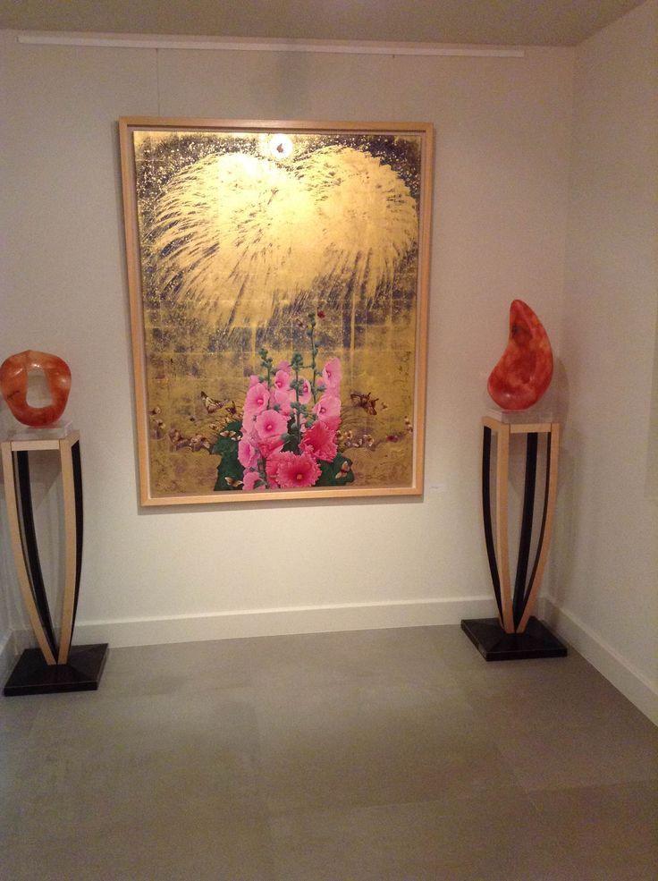 Autumn bliss exhibition  by Kyosuke Tchinai at Gallery Elena Shchukina London till 25 January