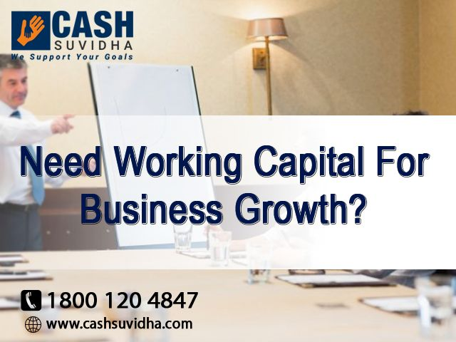 Cash Suvidh - Fulfill your need of working capital for Business Growth. #ApplyOnline #BusinessLoan #LoanforSME #QuickLoan