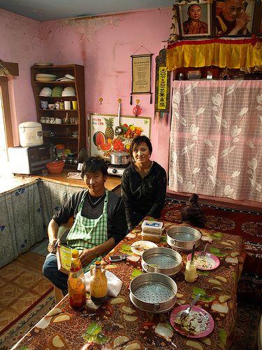 Tibetan Cooking Lesson, Dharamsala, India
