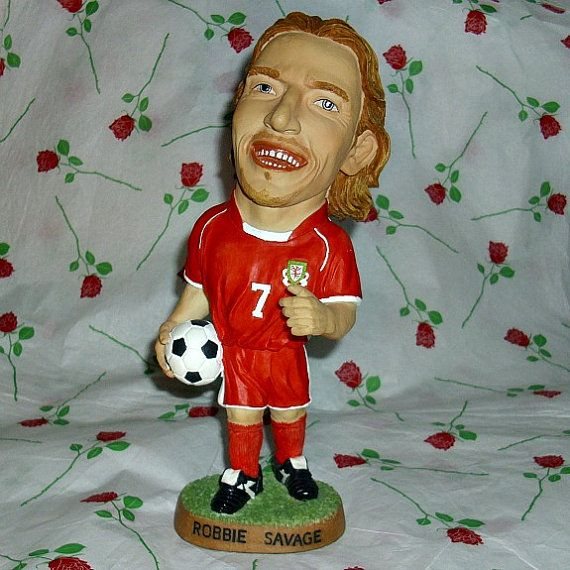 Robbie Savage Welsh Football Player Sport by WelshGoatVintage - SOLD OUT