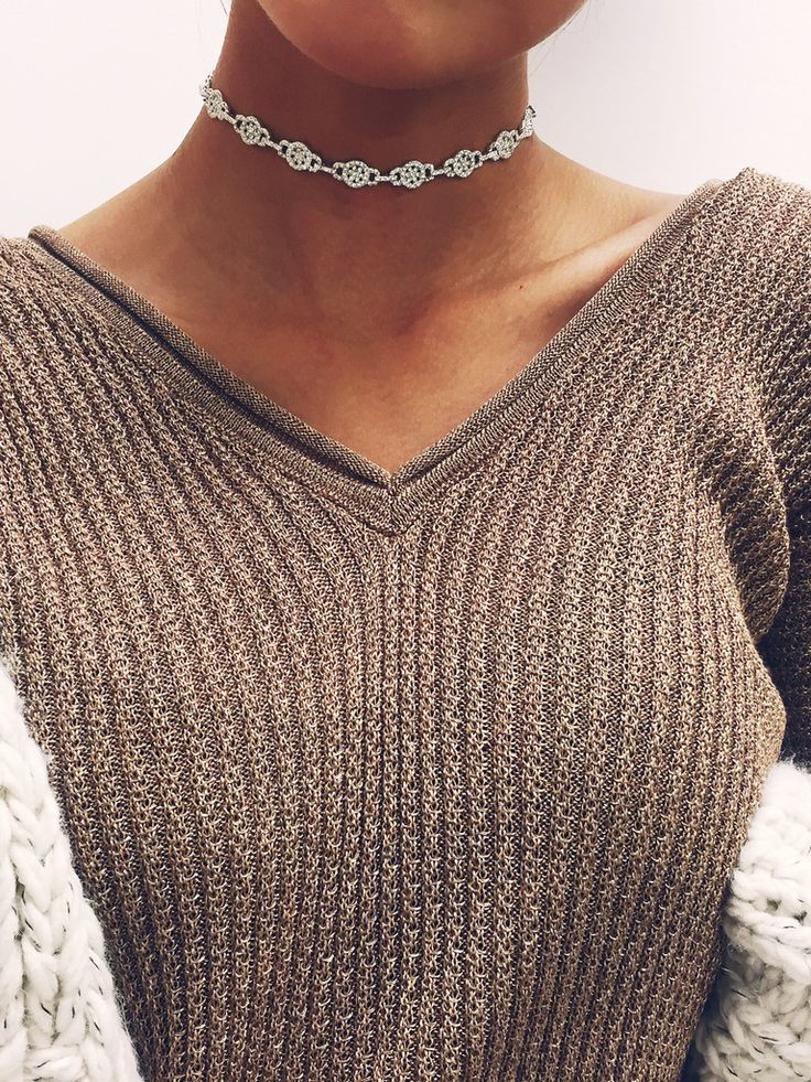 Diamond Ariana Grande Inspired Choker – Stargaze Jewelry
