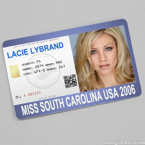 Lacie Lybrand Miss South Carolina USA 2006 card