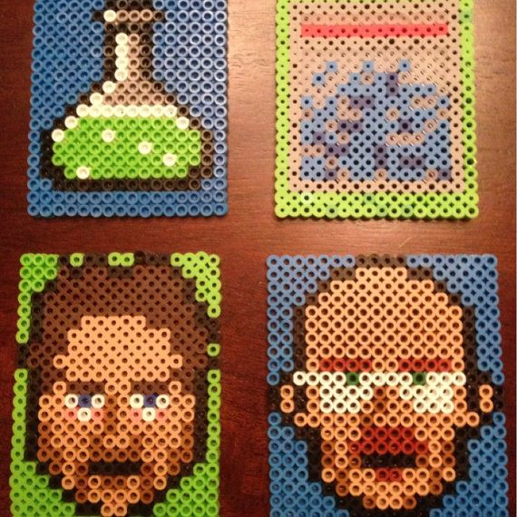 Hey, I found this really awesome Etsy listing at https://www.etsy.com/listing/154234623/set-of-4-breaking-bad-coasters-walter