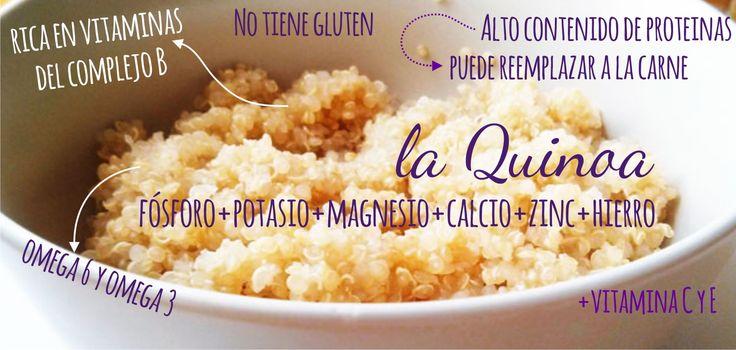 Las propiedades de la quinoa