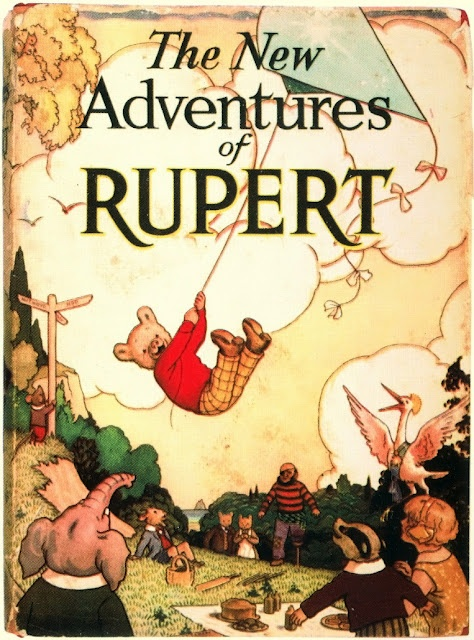 Rupert the bear---love Rupert!