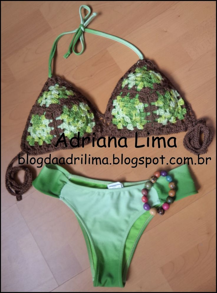 Biquíni customizado http://blogdaadrilima.blogspot.com.br/