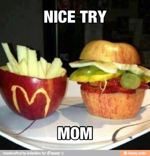 This gave us a chuckle - we think this mom's answer to her children's request for fast food is sheer genius. | Healthy Fast Food