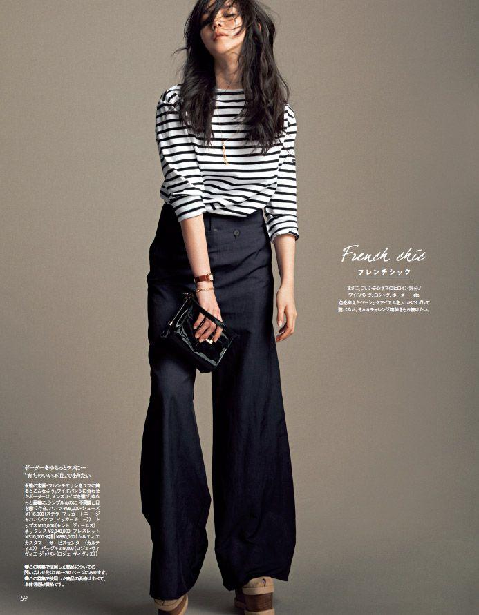 野口強さん、辻直子さん、田中雅美さん…超人気スタイリストが提案する「パンツを女らしく着る方法」3つ - Woman Insight | 雑誌の枠を超えたモデル・ファッション情報発信サイトDomani2015年5月号P59
