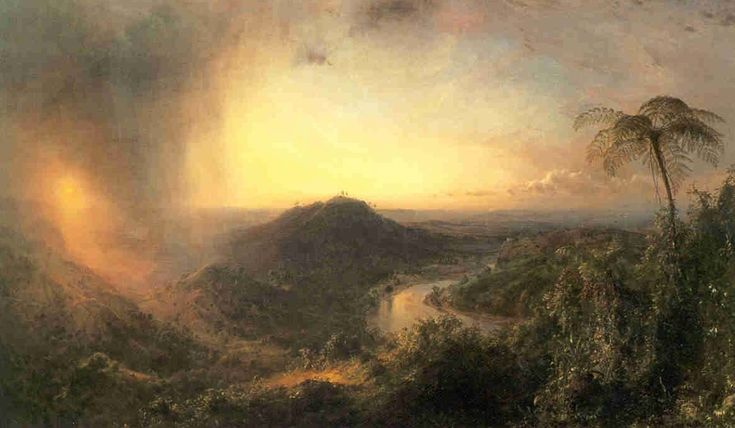 1652 best images about hudson river school on pinterest for Frederick church paintings