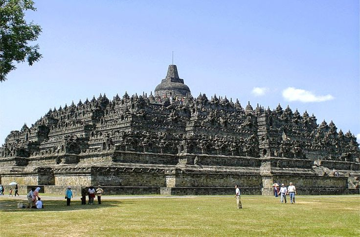 Sejarah Bangunan Candi Borobudur Magelang