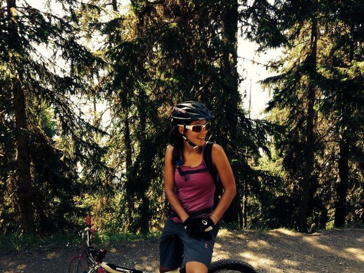 Nancy Pellissier #mtb #bikevibes #skivibes #verbier