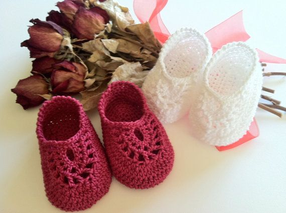 Italian Loafers Booties for Babies Crochet by ThePatternParadise, $4.99