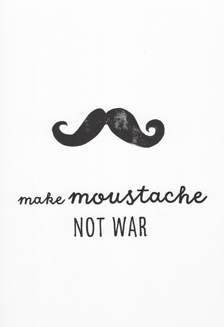 Make Moustache Not War  lino print by lynn costello erskine on artclick.ie