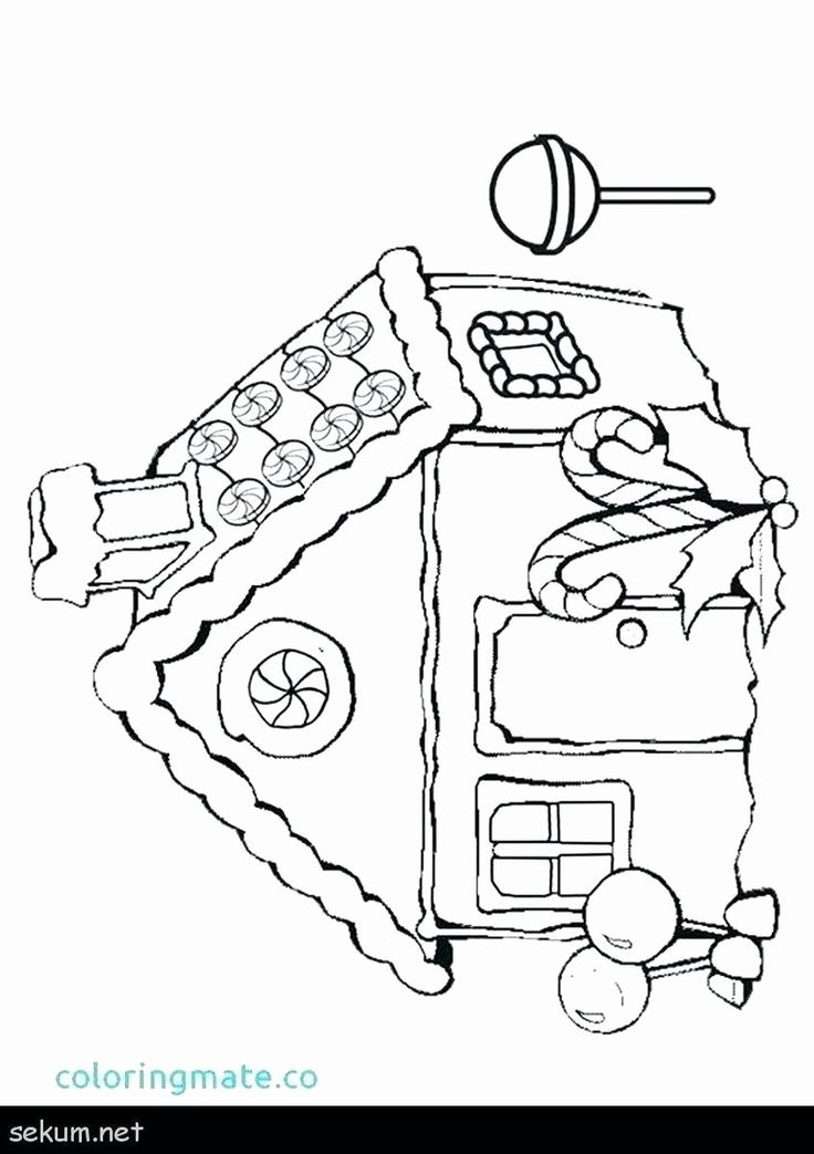 Ginger Bread Man Coloring Pages Unique Printable Gingerbread House Coloring Pages Codeadventu Christmas Coloring Pages Christmas Colors House Colouring Pages