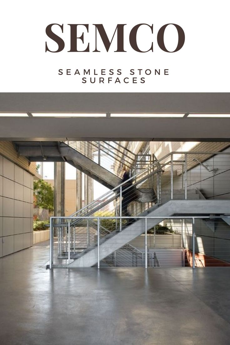 SEMCO is a leading manufacturer for seamless stone surfaces. Discover more about what Semco can do for you.